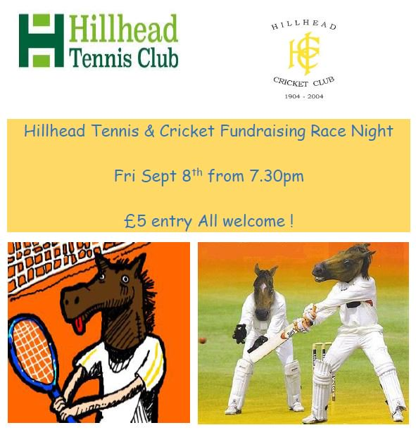 hillhad tennis 8 sept fundraising night