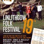 Linlithgow Folk Festival 6 – 10 September, 2017