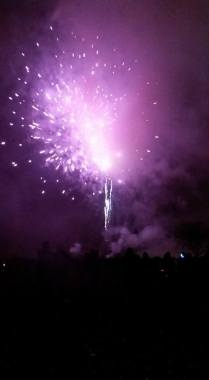 fireworks purple
