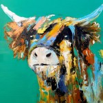 Katy Arthur 'Highland Cow
