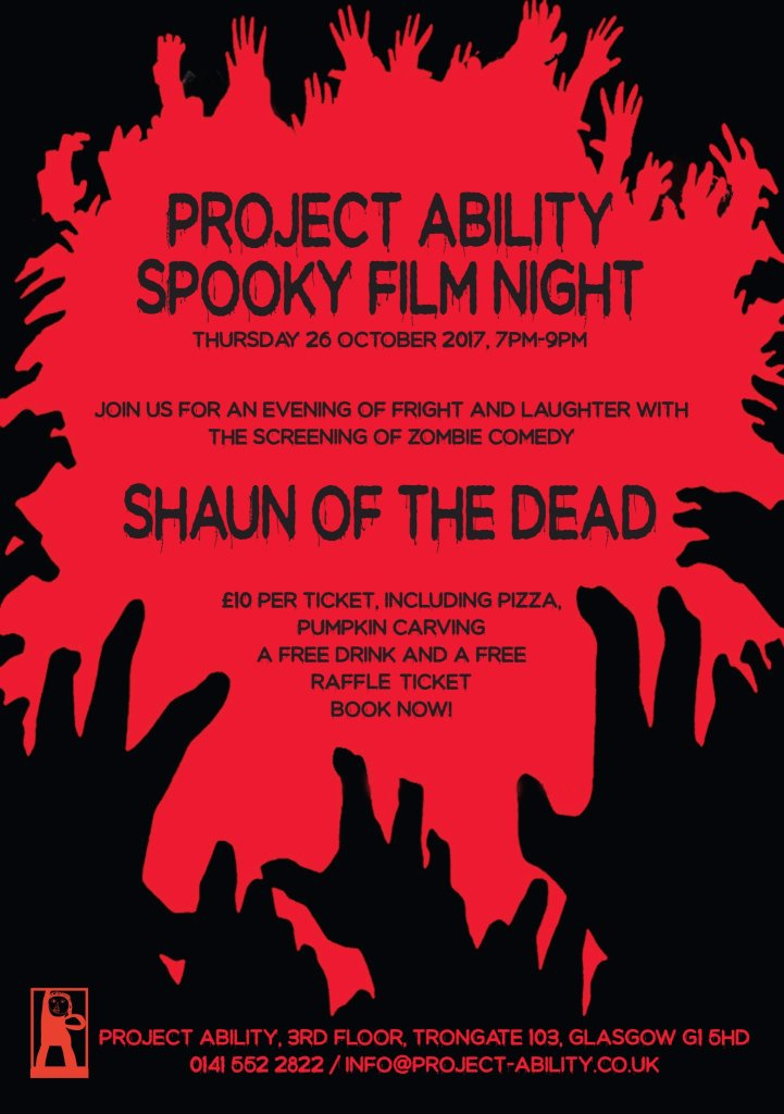 project ability spooky film night