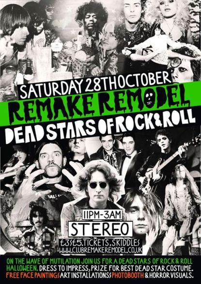 remake remodel dead stars of rock and roll