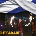 Torch Light Parade 2017,  St Andrew's Day Glasgow