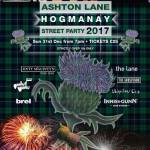 Ashton Lane Hogmanay Street Party 2017