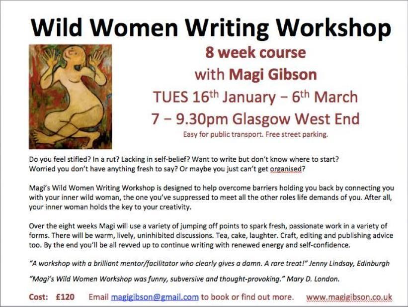 wild women writing workshop