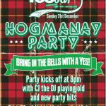 Yes Bar Glasgow, Hogmanay 2017