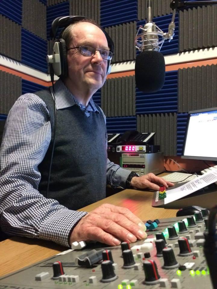 Tony Currie on the radio