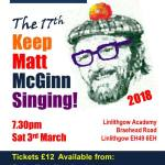 Linlithgow Folk Festival – Keep Matt McGinn Singing