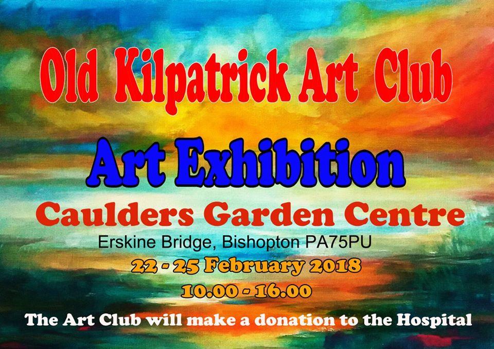 old kilpatrick art club cauldersgarden centre