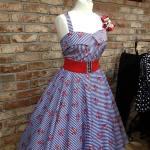 vintage fifties dress