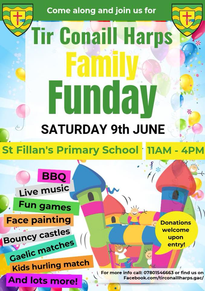 galic sports and fun day 9 june