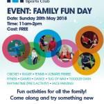 Family Fun Day, Hillhead Tennis Club, 20 May, 2018