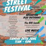 The Great Street Play and The Big Lunch, Queen Margaret Drive, West End Festival 2018