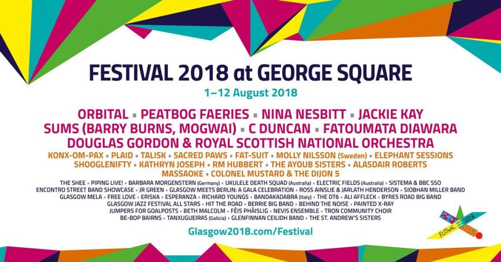 GEORGE SQ FESTIVAL 2018