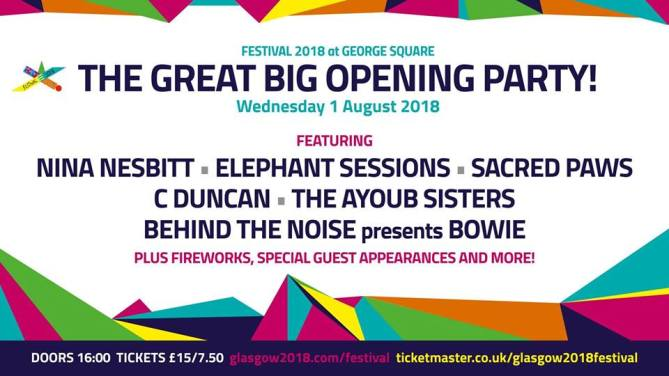 festival 2018 the great big opening party