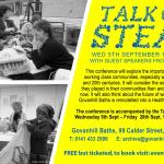 Talk of the Steamie Conference, Govanhill