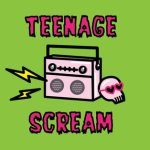 Teenage Scream live Podcast Glasgow Libraries