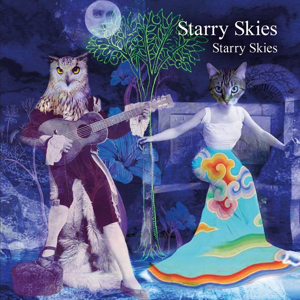 starry skies paisley