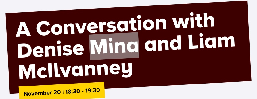 a conversation with denise mina and liam mcilvanney
