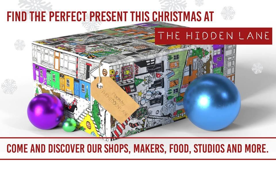 the hidden lane chistmas shopping