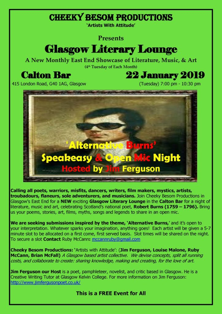 glasgow literary lounge