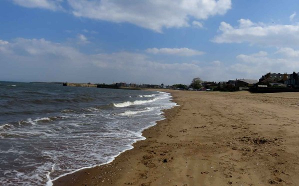 The Sandy Beach at Musselburgh