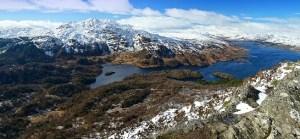 Loch Katrine from Ben A'an Dave Clark