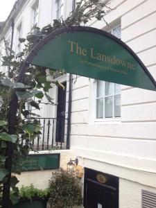 lansdowne entrance