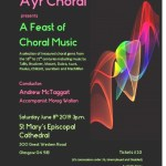 Choral Concert St Marys Episcopal Cathedral
