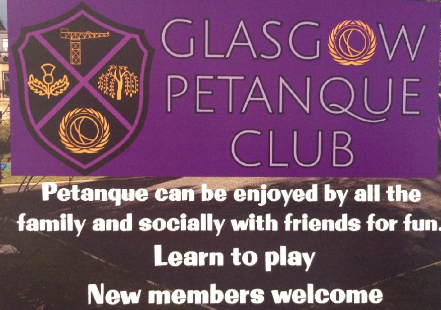 glasgow petanque club