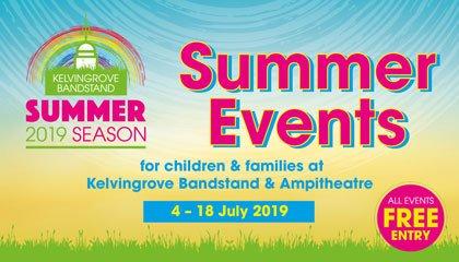 kelvingrove bandstand summer events