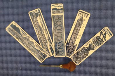 allans art bookmarks