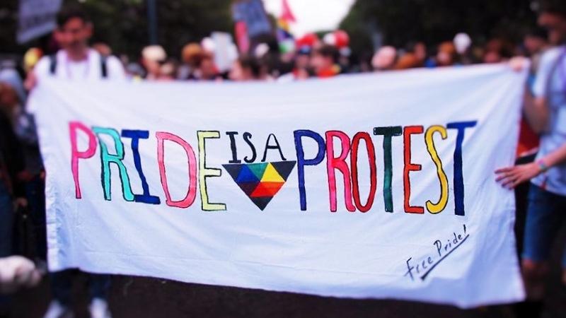 pride is a protes