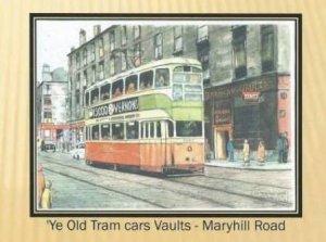 ye old tram cars vaults - maryhill road