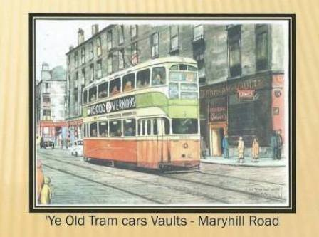 ye old tram cars vaults - maryhill road