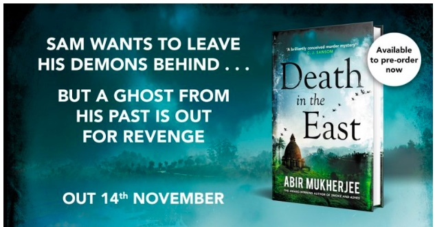 death in the east book abir mukkherjee