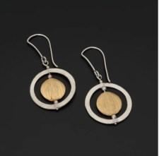 polish small gold silver hoops