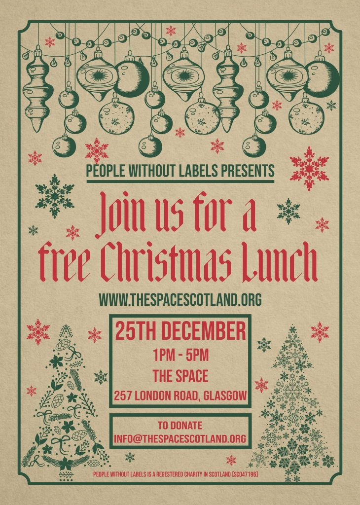 christmas lunch the space