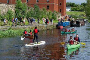 glasgow canal festival