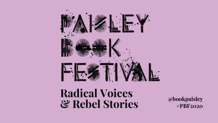 paisley. book festival logo