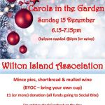 Carols in the Garden, Wilton Street, Glasgow West End