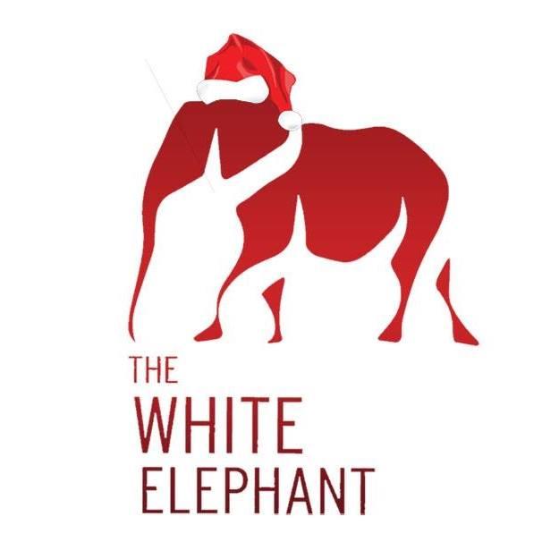 white elephant cafe logo