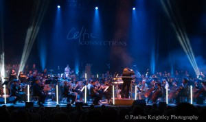 Glasgow, Scotland. Celtic Connections festival 2020. Grit Orchestra led by conductor Greg Lawson performed new compositions inspired by the Declaration of Arbroath and tracks from Martyn Bennets Grit album.