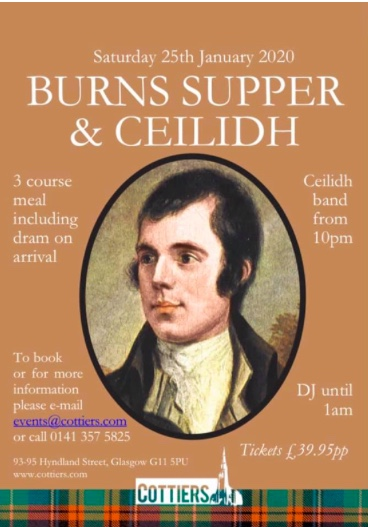 burns supper ceilidh