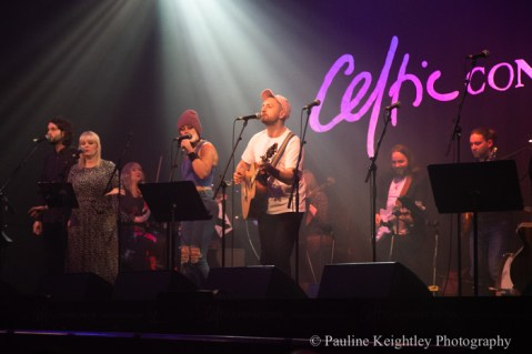 Glasgow, Scotland. 29th January 2020. Celtic Connections festival 2020. Blue Rose Code, aka Ross Wilson, Scottish singer songwriter, performed a concert Caledonia Soul at the Old Fruitmarket. as part of Celtic Connections 2020. Photo Pauline Keightley/ Alamy News.