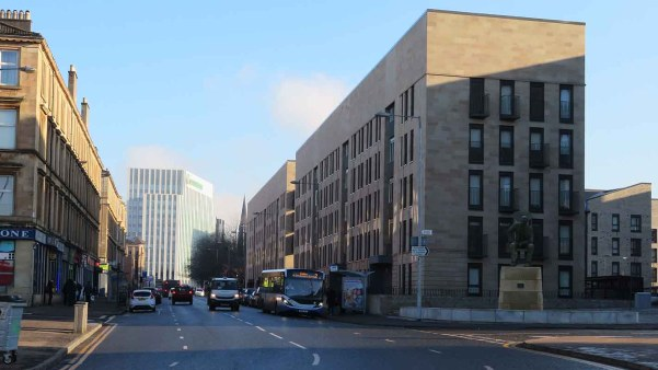 New Look Anderston District. Glasgow