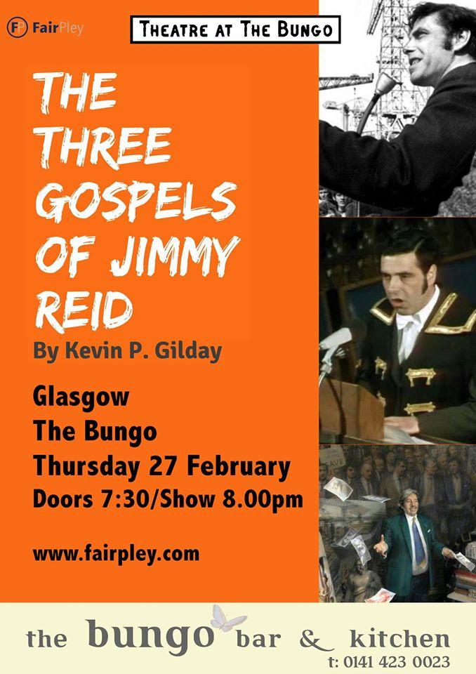 the three gospels of jimmy reid