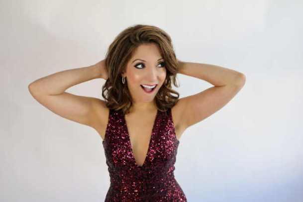 Christina Bianco Playful promo shot