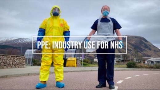 ppe industry use for nhs