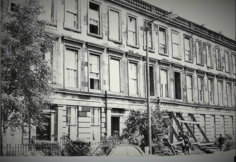 Finnieston St Vincent Crescent 1982
